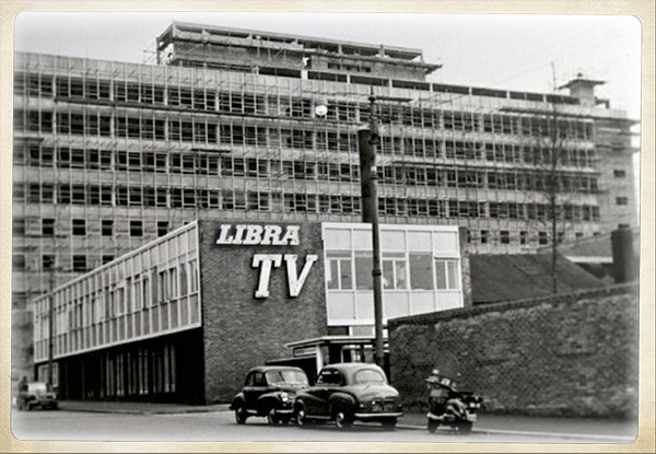 Libra Television website - Under Construction
